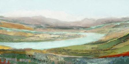 Aerial Landscape by Edward Selkirk art print