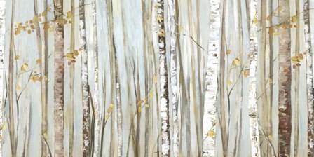 Birchscape I by Allison Pearce art print
