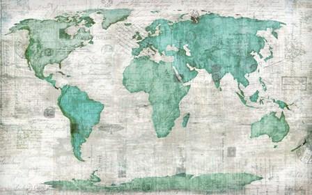 World by Edward Selkirk art print