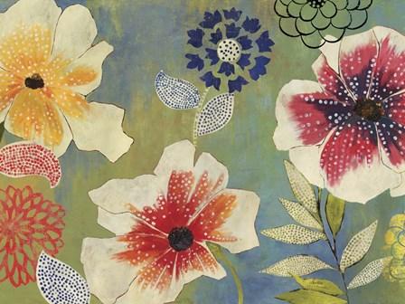 Folk Garden by Posters International Studio art print
