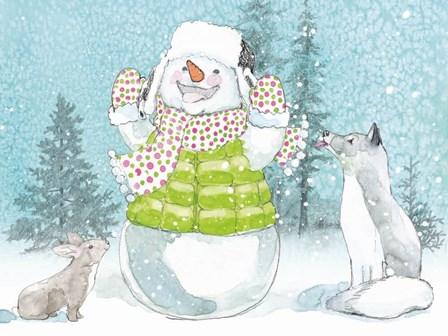 Polar Cap Friends IV by Beth Grove art print