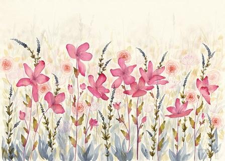 Watercolor Garden by Elyse DeNeige art print