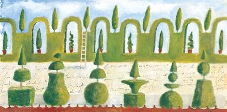 Topiary Garden by Michael Clark art print
