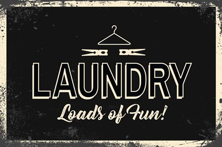 Laundry by ND Art & Design art print