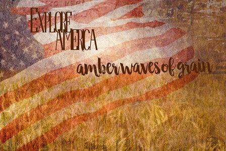 Amber Waves of Grain by Ramona Murdock art print