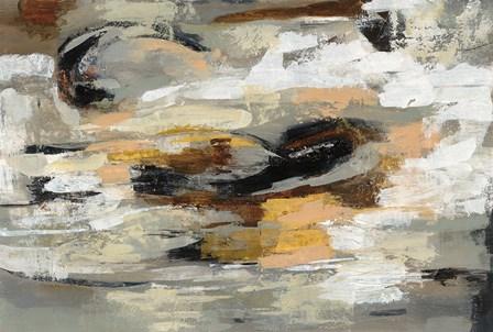 Neutral Abstract by Silvia Vassileva art print
