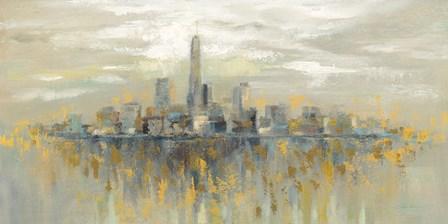 Manhattan Fog by Silvia Vassileva art print