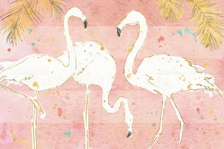 Flamingo Fever IV by Anne Tavoletti art print