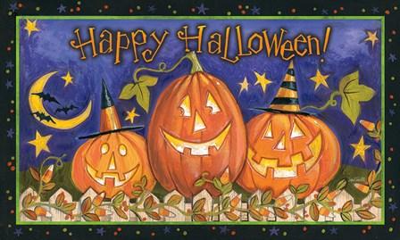 Halloween Wishes I by Anne Tavoletti art print