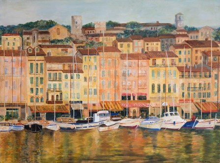 Cote D'Azur by Edith Green art print