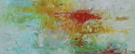 Lush Sunset Panel by Marie-Elaine Cusson art print