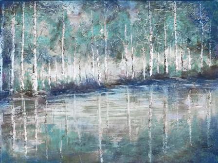 Aspen Pond by Tre Sorelle Studios art print