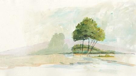 Lake Front II by Avery Tillmon art print