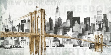New York Skyline I by Avery Tillmon art print