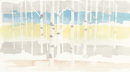 Springlake Aspens Crop by Avery Tillmon art print