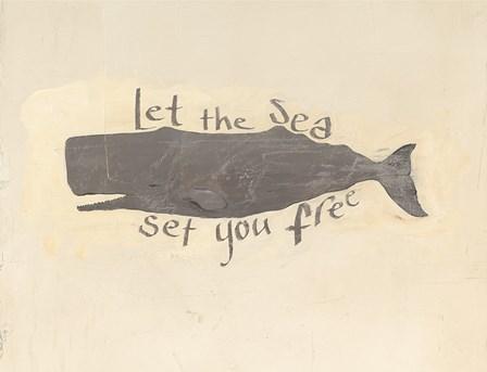 Whale Element Words v2 by Avery Tillmon art print