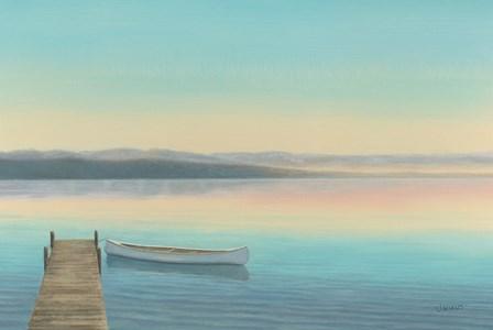 Zen Canoe I by James Wiens art print