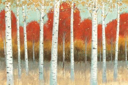 Fall Promenade I by James Wiens art print