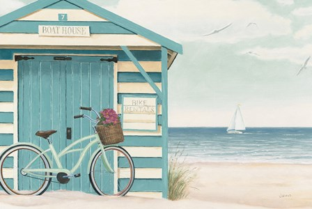 Beach Cruiser I by James Wiens art print