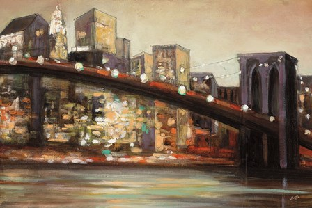 NYC After Hours Crop by Julia Purinton art print