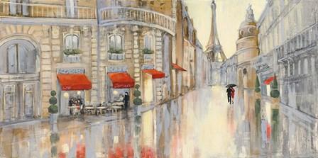 Touring Paris Couple by Julia Purinton art print