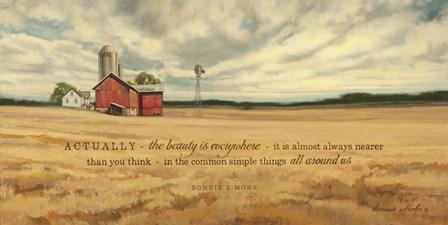 The Beauty by Bonnie Mohr art print