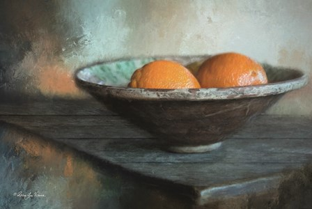 Orange Still Life by Robin-Lee Vieira art print