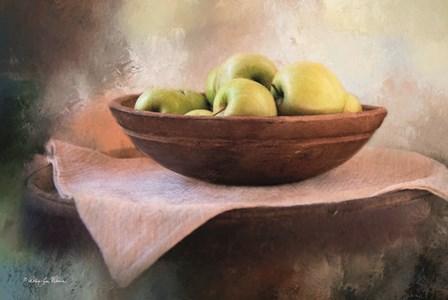 Apple Still Life by Robin-Lee Vieira art print