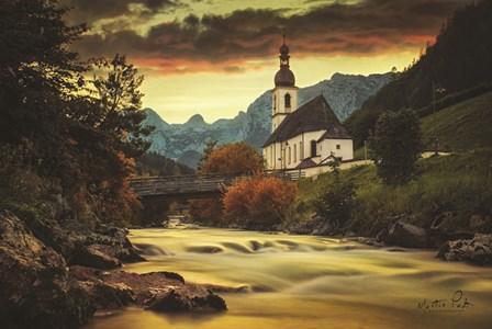 The Church by Martin Podt art print