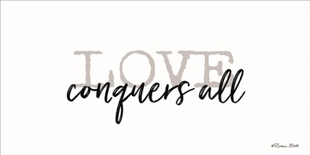 Love Conquers All by Susan Ball art print