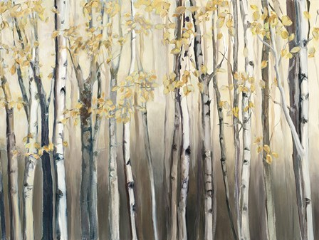 Golden Birch III by Marilyn Hageman art print