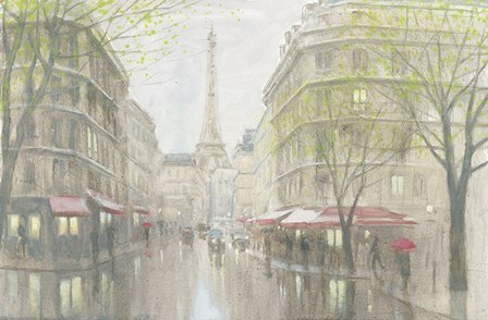 Pale Impression of Paris by Myles Sullivan art print