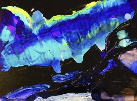 Aroura 2 by Michelle McCullough art print