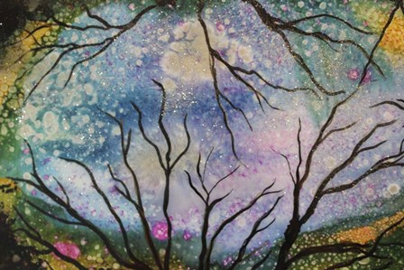 Starry Sky by Michelle McCullough art print
