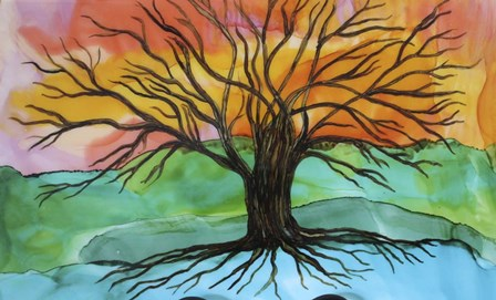 Tree of Joy by Michelle McCullough art print