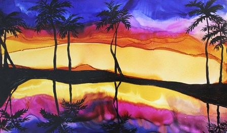 Tropical by Michelle McCullough art print