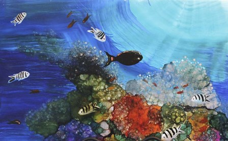 Under The Sea by Michelle McCullough art print