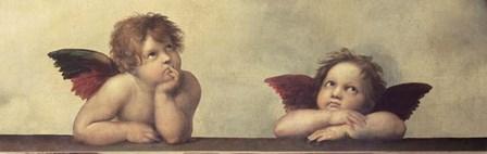 Cherubini by Raphael art print