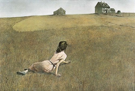 Christina's World by Andrew Wyeth art print