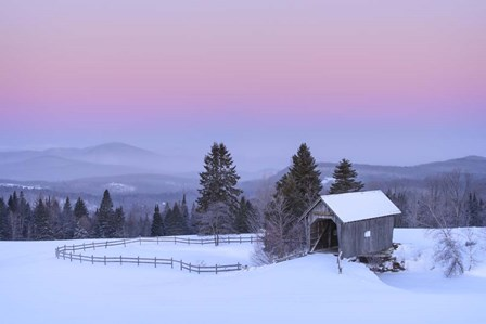 Rosy Countryside by Michael Blanchette Photography art print