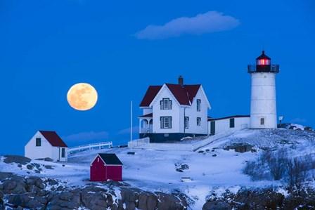 Snow Moon by Michael Blanchette Photography art print