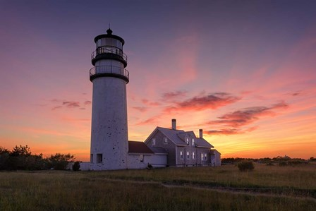 Cape Cod Sunset by Michael Blanchette Photography art print