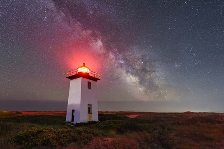 Night Tower by Michael Blanchette Photography art print