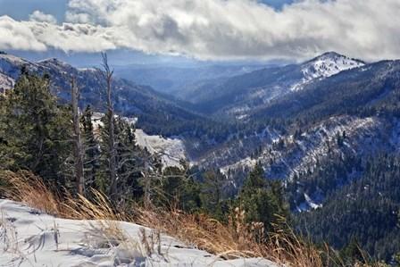 Sierra Blanca Snow by Mike Jones Photo art print