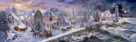 Holiday at Seaside by Nicky Boehme art print