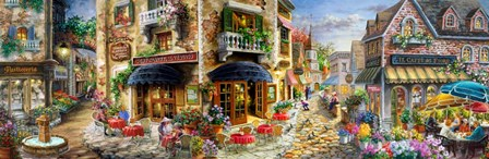 Late Afternoon in Italy by Nicky Boehme art print
