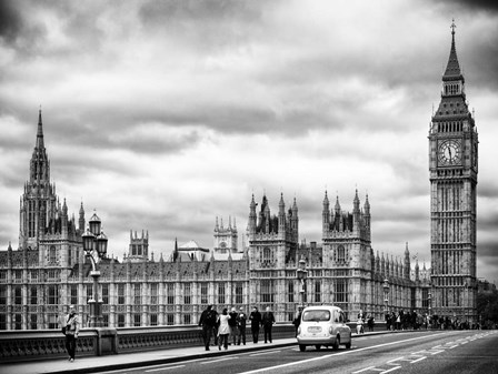 Palace of Westminster and Big Ben by Philippe Hugonnard art print