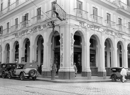 1930s Outside Facade Of Sloppy Joe'S Bar by Vintage PI art print