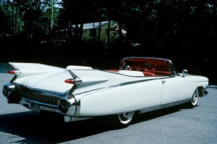 1959 El Dorado Biarritz Cadillac Convertible by Vintage PI art print