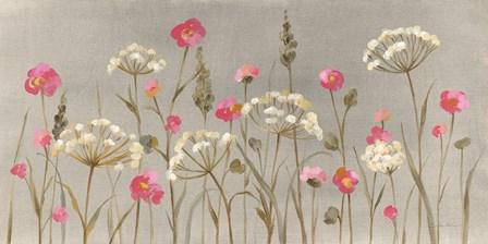 Delicate Garden by Silvia Vassileva art print
